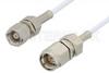 SMA Male to SMC Plug Cable 72 Inch Length Using RG196 Coax, RoHS -- PE34450LF-72 -Image