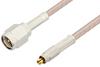 SMA Male to MC-Card Plug Cable 36 Inch Length Using RG316 Coax -- PE36108-36 -Image