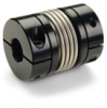 Clamp Style Bellows Coupling - Without Keyways -- MBC