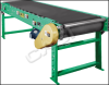 Roller Bed Conveyor - Belt Over Roller