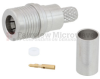 QMA Male (Plug) Snap-On Connector For LMR-200 Cable, Crimp/Solder -- FMCN1102 -Image