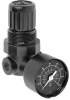 General Purpose Pressure Regulators -- R07-200-RGKA Inline Pressure Regulator - Image