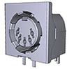 Multipin Circular Connector -- 5212044-1