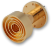 Wide Beam Scalar Horn -- QSW