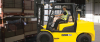 Diesel Forklift with Pneumatic Tires -- 110/130D-7E - Image