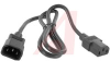 Power Cord; 10 A; Cord; SVT Beldfoil Shielded; 1 m; 0.253 in. (Nom.) Outer -- 70116013 - Image
