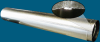 30 Ga. Galvanized Round Snaplock Pipe -- 1002036