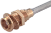 Coaxial Straight Bulkhead Cable Feed Through -- Type 24_MCX-50-1-3/111_NE - 22641648