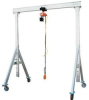 Adjustable Height Aluminum Gantry Cranes -- AHA-2-12-12