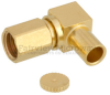 RA SSMC Plug Connector Solder Attachment For RG405, RG405 Tinned, .086 SR Cable -- FMCN1269 -Image