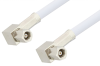 SMC Plug Right Angle to SMC Plug Right Angle Cable 12 Inch Length Using RG188-DS Coax -- PE34464-12 -- View Larger Image