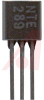 TRANSISTOR NPN SILICON 35V IC=0.8A TO-92 CASE AUDIO AMP AND SWITCH COMP'L TO NTE -- 70215751