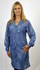 Tech Wear 2XL V-Neck ESD / Anti-Static Lab Coat VOC-23-2X -- VOC-23 2XL