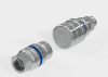 Stainless Steel, Flush, Flat Face, Quick Coupling -- NCB -Image