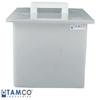 Tamco Polypropylene High Temperature Rectangular Tanks -- 9079