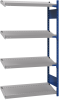 Open shelving with 4 sloped shelves (FIFO) (End side-by-side unit) -- SRC1F-GE750401 - Image