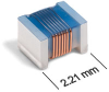 0805HP (2012) High Q Ceramic Chip Inductors -- 0805HP-151 -Image
