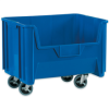 """19 7/8"""" x 15 1/4"""" x 12 7/16"""" Blue - Mobile Giant Stackable Bins -- BING120 -- View Larger Image"""