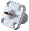 Coaxial Straight Panel Receptacle Jack, Flange Mount -- Type 23_SMA-50-0-51/199_NE - 22543948
