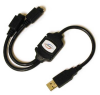 Linkskey USB to PS2 Adapter for PS2 Keyboard & Mouse -- LKV-UPC01 -- View Larger Image