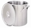 Stainless steel cylindrical utility tank, 18-18 stainless steel, 60 quart -- EW-07233-01