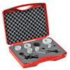 Hole Saw Kit: bi-metal HSS-Co8, 7/8 to 2-11/16 inch diameter, 8 pc -- 126302 - Image
