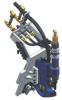 Manual Hydraulic Double Acting Pre-Clamping (DAC) -- View Larger Image