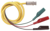 POMONA - 5342 - TRIAXIAL CABLE, 36IN, 20AWG, YELLOW -- 978942