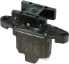 TP Series Rocker Switch, 1 pole, 3 position, Screw terminal, Above Panel Mounting -- 1TP7-1 -- View Larger Image