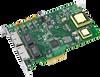 4-port 10/100/1000 BaseT(X) 802.3af (PoE) Compliant Ethernet ports, PCI Express Communication Card -- PCIE-1674PC