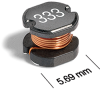 SD54 Series Surface Mount Power Inductors -- SD54-563 -Image