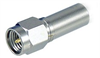 QMA Plug to SMA Male, Pigtail 10 ft 195-Series -- CA-QPSMA010 -Image