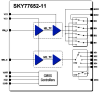 SkyLiTE™ Multimode Multiband Power Amplifier Module -- SKY77652-11 -Image