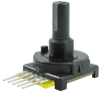 510 Series mechanical encoder, 4-bit: 16 cycles per revolution, 16 detents/revolution, PC type C-30 terminals -- 510E1A48F416PC