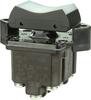 TP Series Rocker Switch, 4 pole, 3 position, Screw terminal, Flush Panel Mounting -- 4TP1-70 -Image