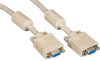 20FT VGA Video Cable with Ferrite Core, Beige, Female/Female -- EVNPS06-0020-FF - Image