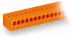 1-conductor PCB terminal strip; 2 solder pins/pole; 24-pole; pin spacing 3.81 mm / 0.15 in; without push-button -- 235-124/330-000