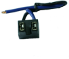 "Socket For H7 Halogen lamps,5-3/4"" Leads -- 85909"