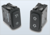 Illuminated Indicators Sealed Rocker Switch -- LP Series