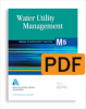 M5 Water Utility Management, Second Edition (PDF) -- 30005-PDF