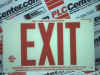 (87807B) FRAMELESS BRADY GLO EXIT SIGN-RED -- 87807 - Image