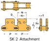 Plastic Sleeve Chain Attachment -- CS2062SSD 1L SK-2 -Image