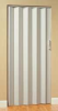 Folding Door,80 x 100 In.,White -- 5DXE7