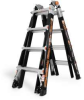 LITTLE GIANT 17 Ft. Type 1A Fiberglass Multi-Position Ladder -- Model# 10717LG - Image