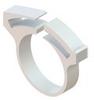 Hose & Tubing Clamps - Plastic Hose Clamps -- SHC-16GF - Image
