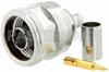 N Male Connector Crimp/Solder Attachment for PE-C240, RG8X, 0.240 inch, LMR-240, LMR-240-DB, LMR-240-UF, B7808A -- PE44521 -Image