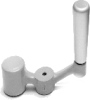 Aluminum Balanced Crank Handle -- Model 11301 - Image