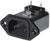 Power Entry Connectors - Inlets, Outlets, Modules -- 10EEBP-ND - Image