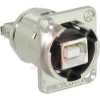 RECEPTACLE, EH SERIES, USB B TO A -- 70214312
