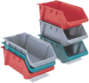 LEWISBins+ Fiberglass Hopper Stack and Nest Containers -- 54133
